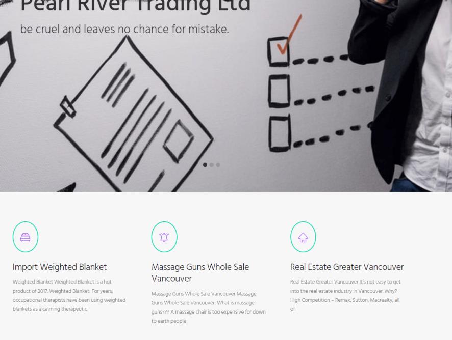 投资顾问公司网站制作 - 温哥华专业网上推广