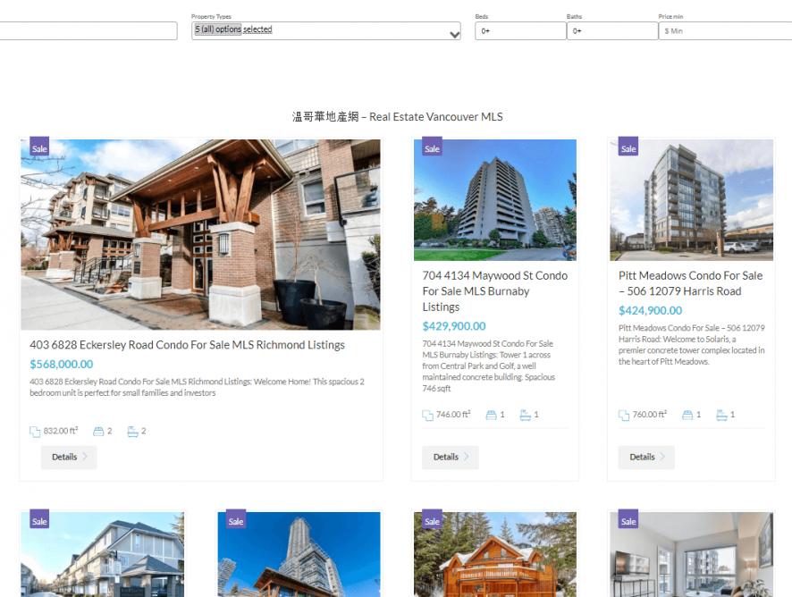 房地产行业网站制作 - 专业搜索引擎优化,网上广告