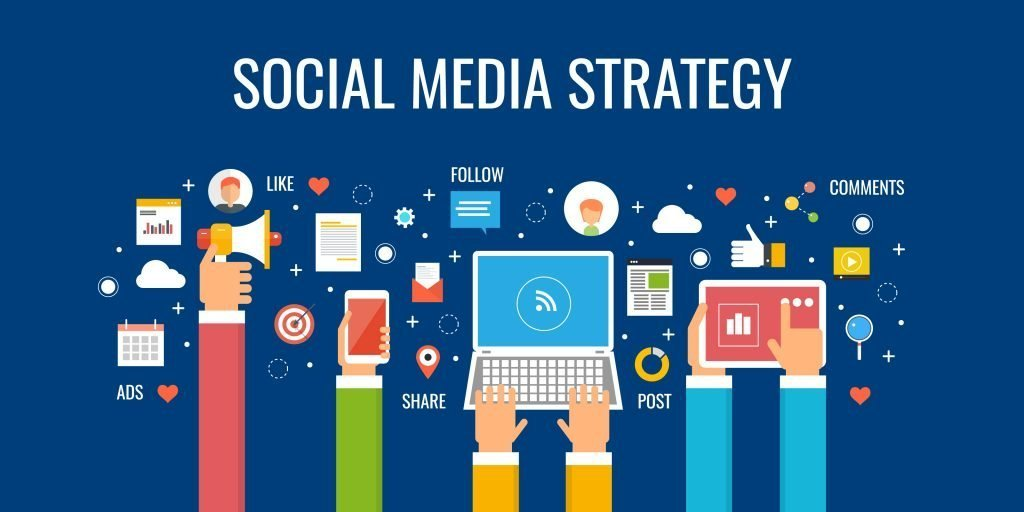 制定社交媒體內容行銷策略 - 網站開發